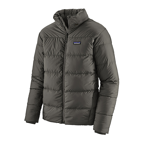 Patagonia Silent Down Mens Jacket 2021, Forge Grey, 600