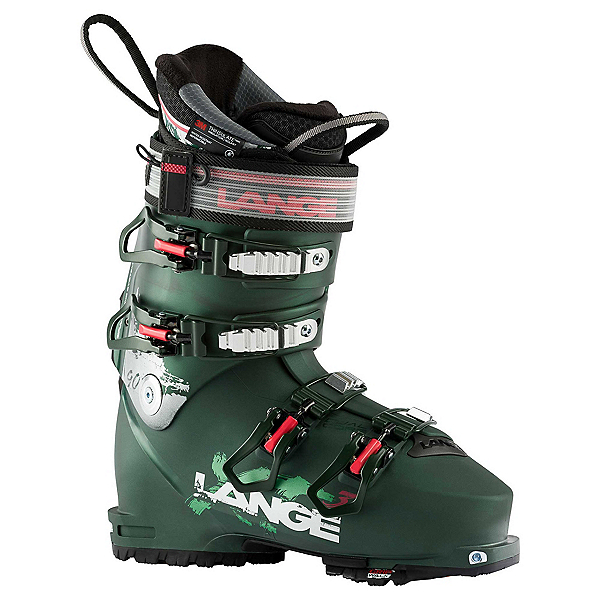 Lange XT3 90 Womens Ski Boots, Dark Green, 600