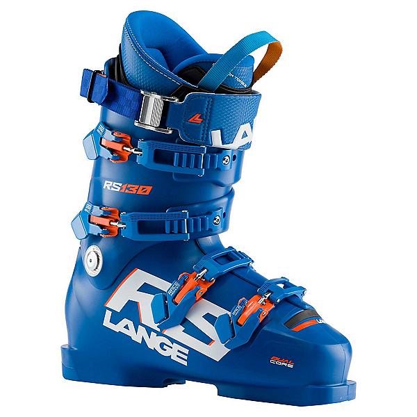 Lange RS 130 Race Ski Boots, Power Blue, 600