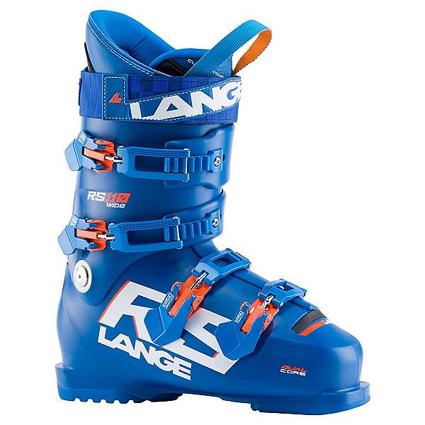 Lange RS 110 Wide Race Ski Boots, Power Blue, 600