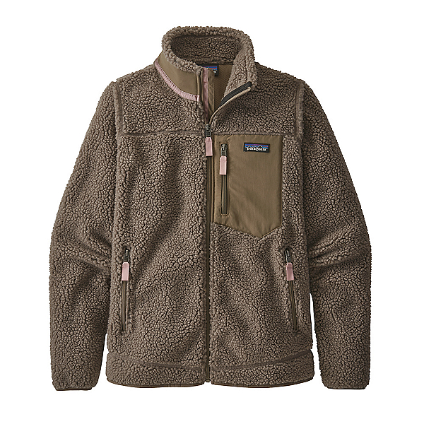 Patagonia Classic Retro-X Womens Jacket 2021, Furry Taupe, 600