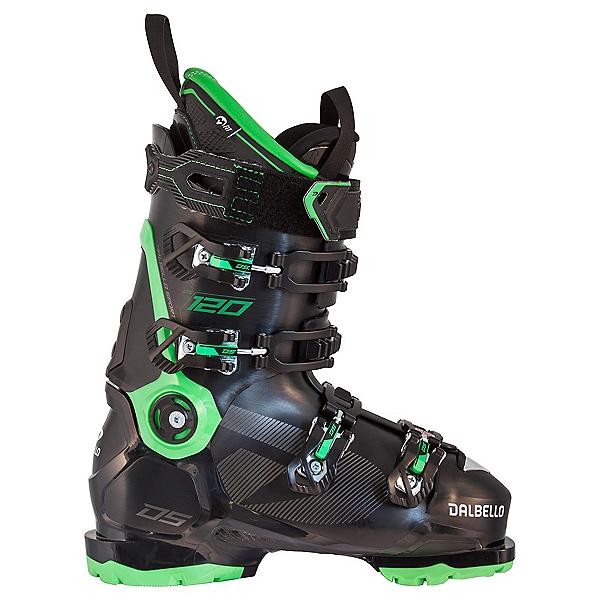 Dalbello DS 120 Ski Boots, Black-Race Green, 600