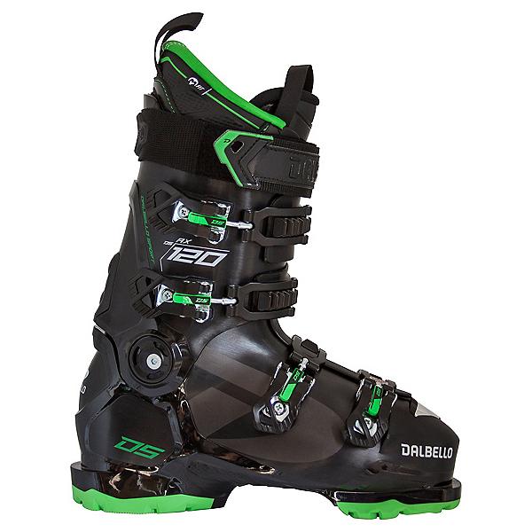 Dalbello DS AX 120 Ski Boots, Black-Green, 600