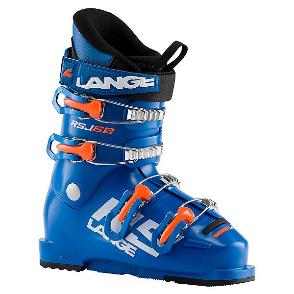 Lange RSJ 60 Junior Race Ski Boots 2022, Power Blue, 600