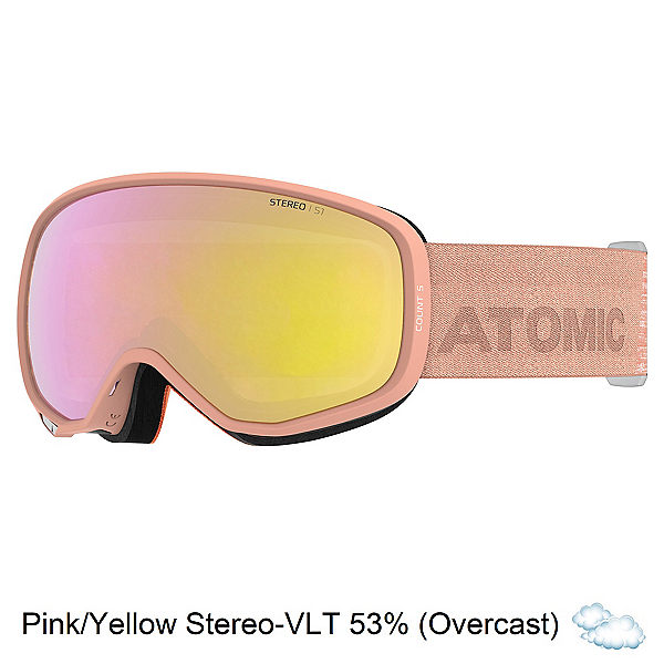 Atomic Count Stereo S Womens Goggles, , 600