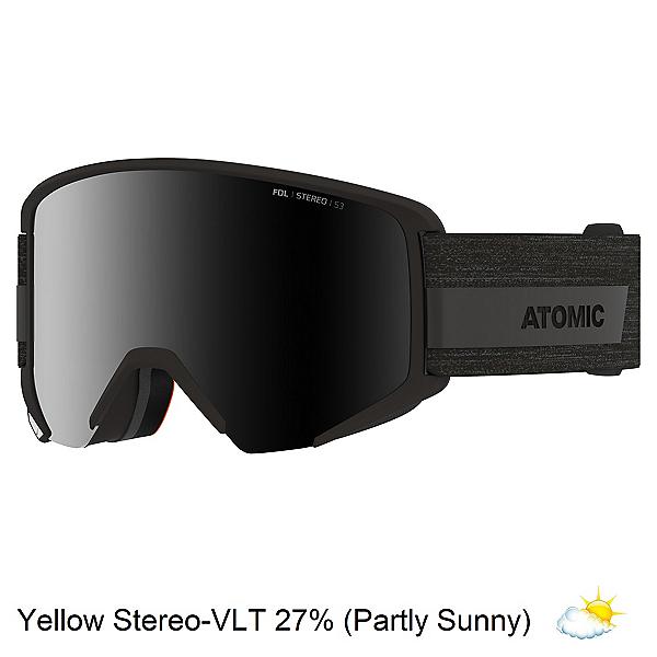 Atomic Savor Big Stereo Goggles, All Black-Black Stereo, 600