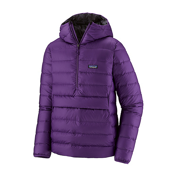Patagonia Hooded Down Sweater Mens Jacket 2021, Purple, 600