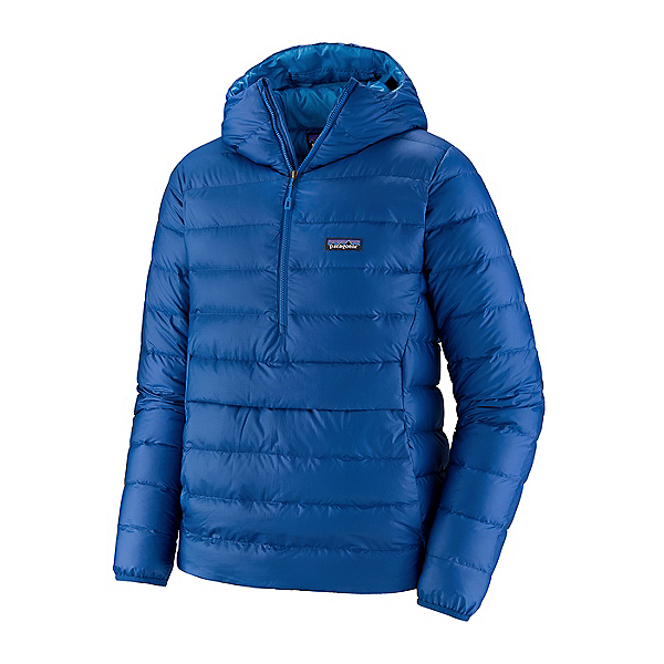 Patagonia Hooded Down Sweater Mens Jacket 2021, Superior Blue, 600