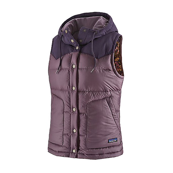 Patagonia Bivy Hooded Womens Vest 2021, Hyssop Purple, 600