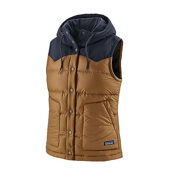 Patagonia Bivy Hooded Womens Vest 2022, Nest Brown, 600