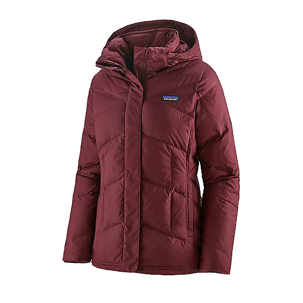 Patagonia Down With It Womens Jacket 2021, Chicory Red, 600