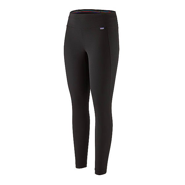 Patagonia Capilene Midweight Womens Long Underwear Pants 2021, Black, 600