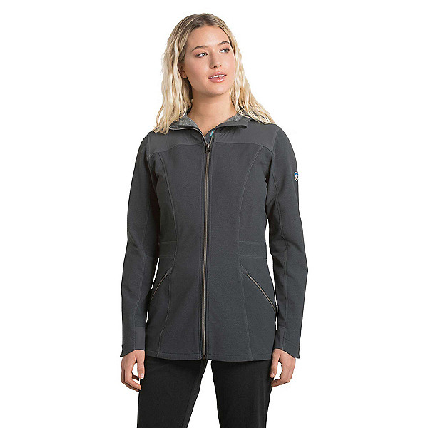KUHL Klash Trench Womens Jacket, Carbon, 600