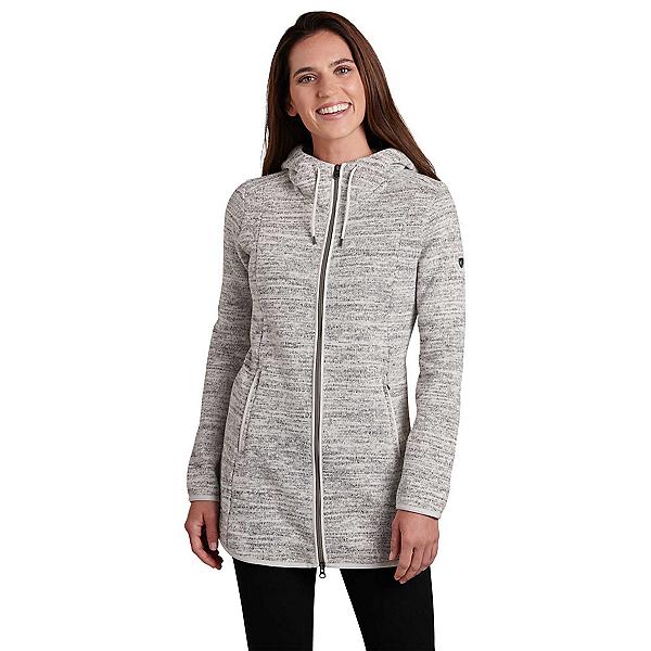 KUHL Ascendyr Long Womens Jacket, Ash, 600