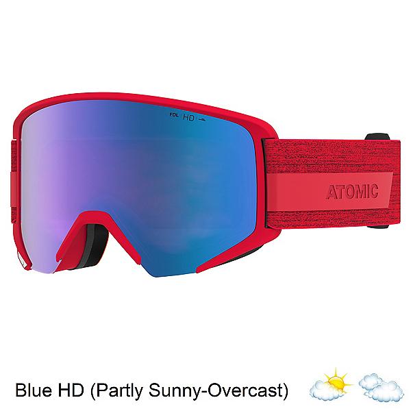Atomic Savor Big HD Goggles 2022, Red-Blue Hd, 600
