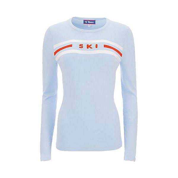 Meister SKI Womens Sweater 2021, Sky-Lava-White Cloud, 600