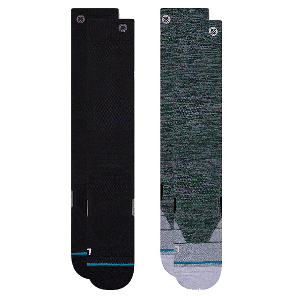 Stance Essential Snow 2 Pack Snowboard Socks, , 600