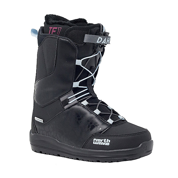 Northwave Dahlia SL Womens Snowboard Boots 2020, Black, 600
