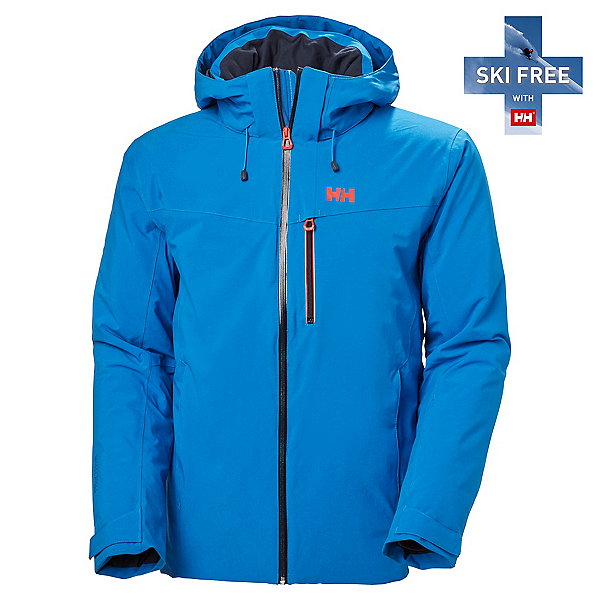 Helly Hansen Swift 4.0 Mens Insulated Ski Jacket, Electric Blue, 600
