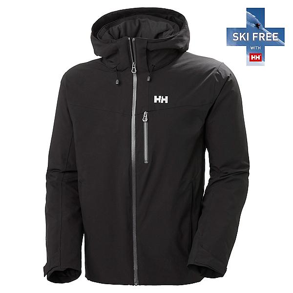 Helly Hansen Swift 4.0 Mens Insulated Ski Jacket, Black, 600