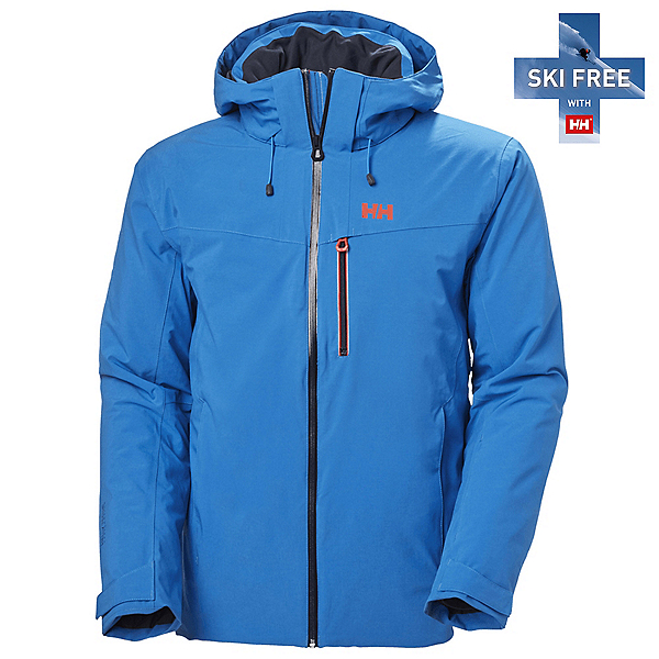 Helly Hansen Swift 4.0 Mens Insulated Ski Jacket 2022, Electric Blue, 600