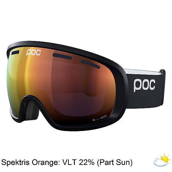 POC Fovea Clarity Goggles 2022, Uranium Black-Spektris Orange, 600