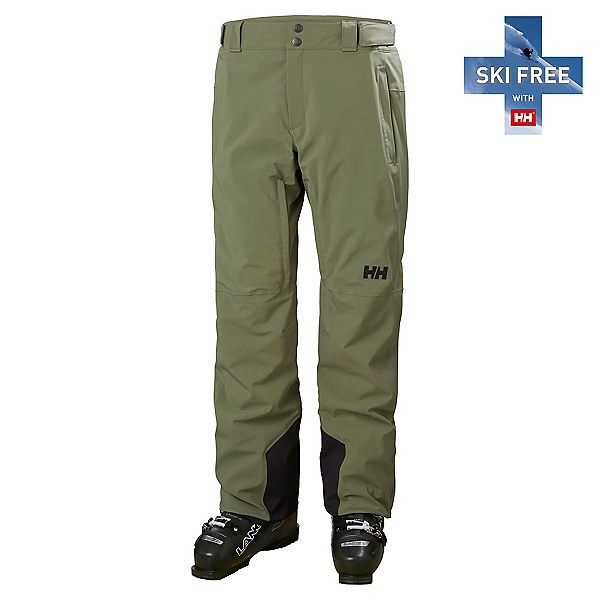 Helly Hansen Rapid Pant Mens Ski Pants, Lav Green, 600