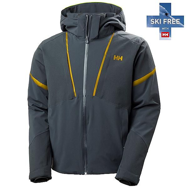 Helly Hansen Freeway Mens Insulated Ski Jacket 2022, Slate, 600