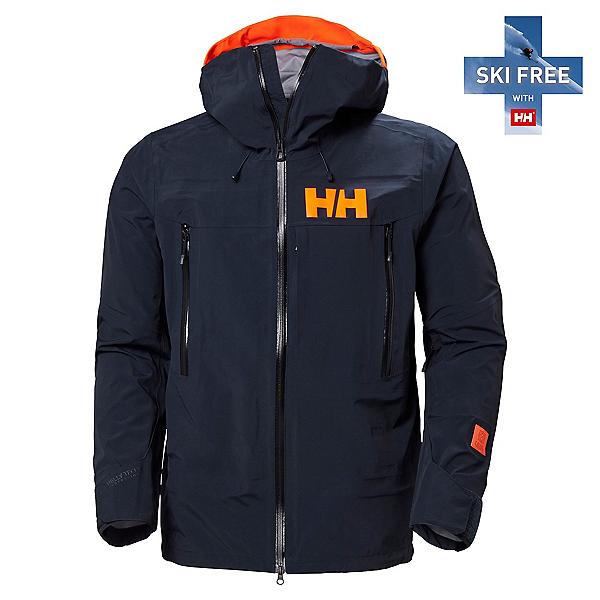 Helly Hansen Sogn Shell 2.0 Mens Shell Ski Jacket, Navy, 600