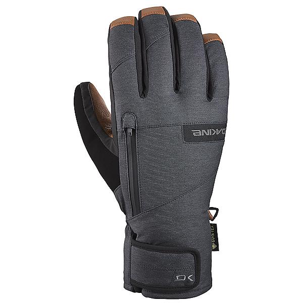 Dakine Leather Titan Gore-Tex Short Gloves 2021, Carbon, 600
