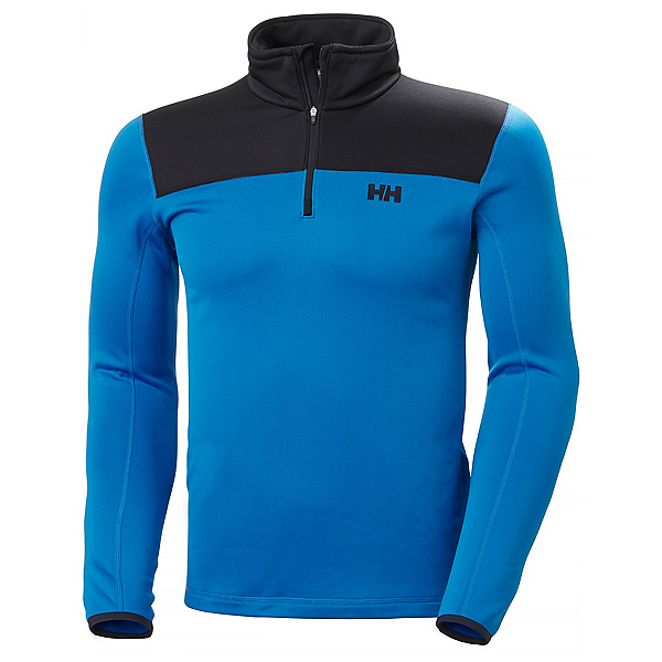 Helly Hansen Power Stretch Phantom Zip Mens Mid Layer, Electric Blue, 600