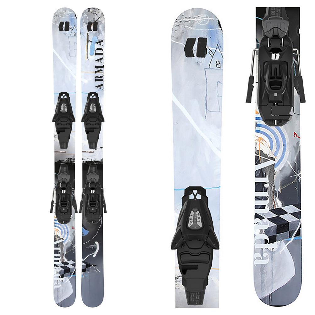 Armada Bantam Kids Skis with L C5 GW Bindings