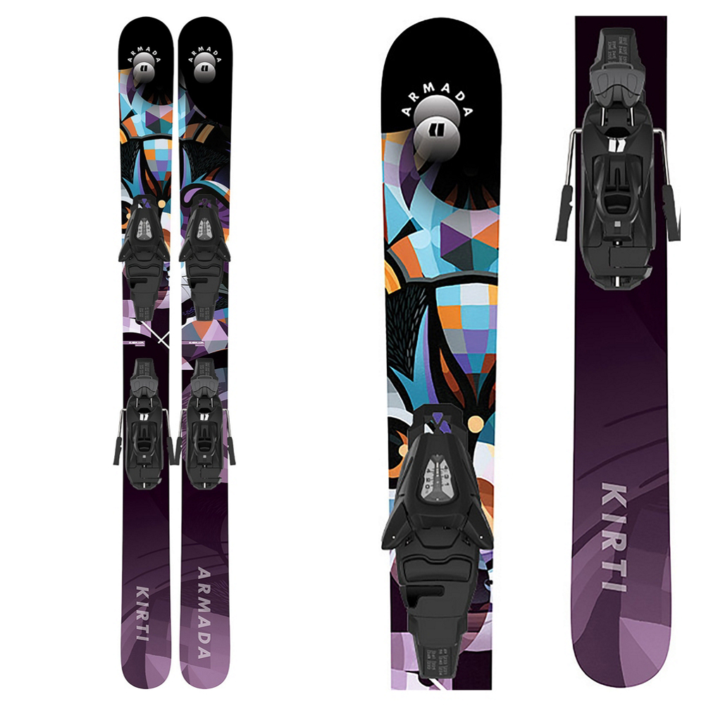 Armada Kirti Kids Skis with L C5 GW Bindings 2021