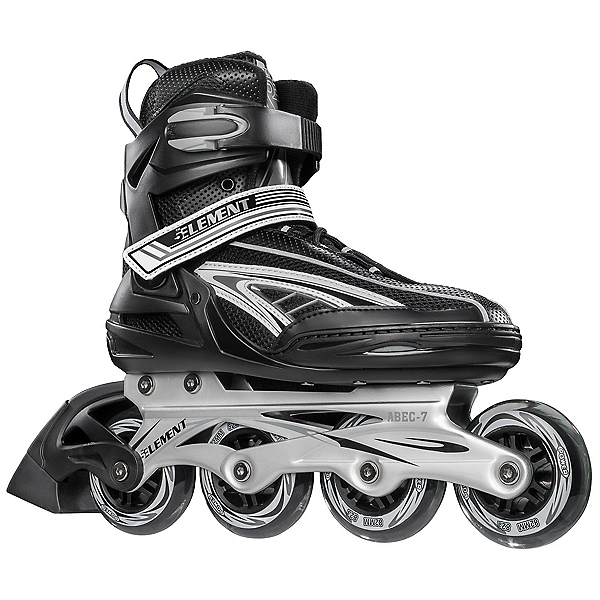 Used 5th Element Panther XT Inline Skates 2020, Black-Gray, 600
