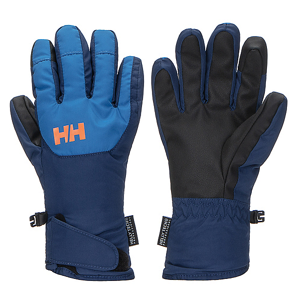 Helly Hansen Jr Swift HT Kids Gloves, Sonic Blue, 600