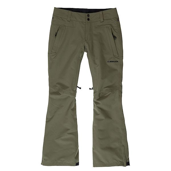 Armada Lenox Insulated Womens Ski Pants, Fir, 600