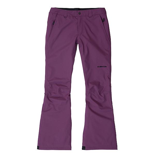 Armada Basa Insulated Womens Ski Pants, Plum, 600