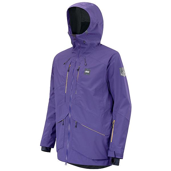 Picture Zephir Mens Shell Ski Jacket, Dark Purple, 600