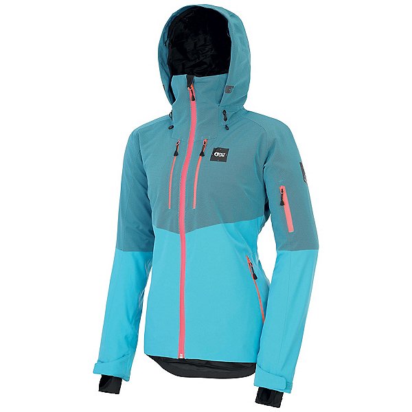 Picture Signa Womens Insulated Ski Jacket, Light Blue, 600