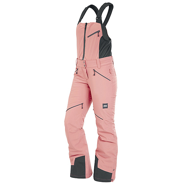 Picture Haakon Bib Womens Ski Pants, Misty Pink, 600