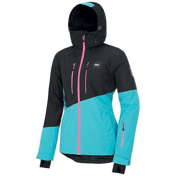Picture Seen Womens Shell Ski Jacket, Light Blue, 600