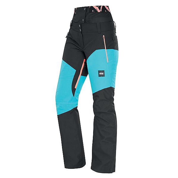 Picture Exa Womens Ski Pants, Light Blue Black, 600
