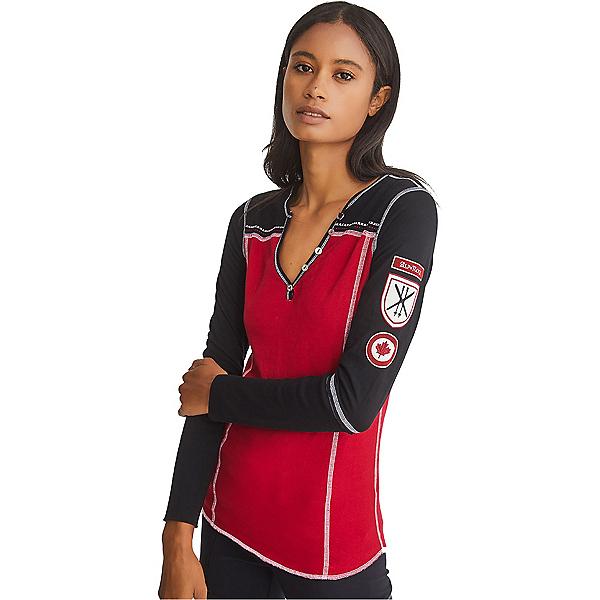 Alp-n-Rock Valerie Canada Womens Henley, , 600
