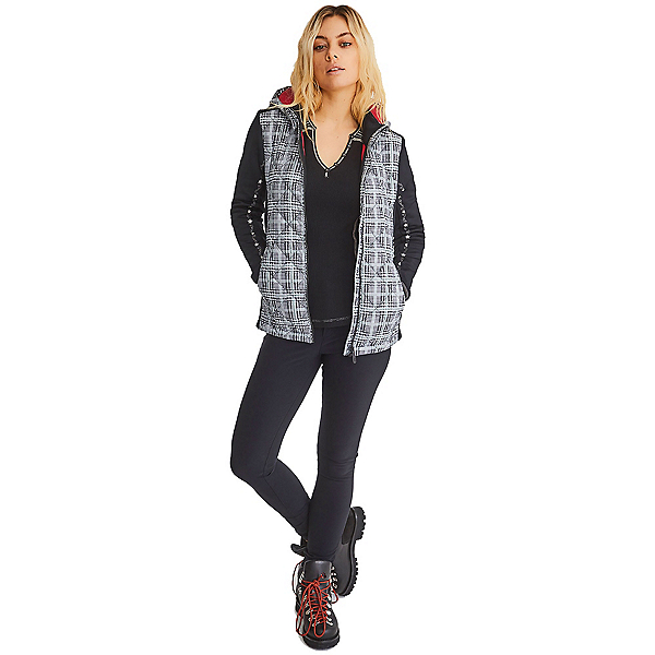 Alp-n-Rock Lugano Alpine Womens Jacket, Plaid, 600