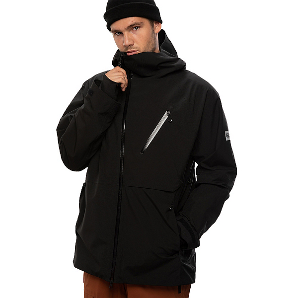 686 Hydra Thermagraph Mens Insulated Snowboard Jacket, Black, 600