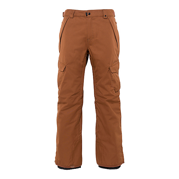 686 Infinity Cargo Mens Snowboard Pants, Clay, 600