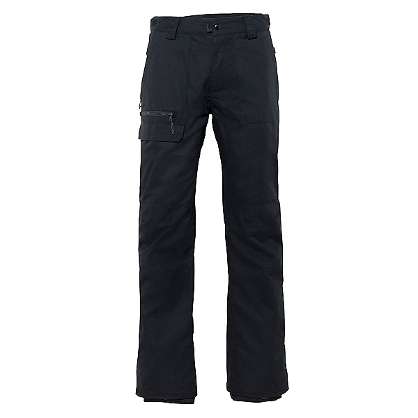 686 Vice Mens Snowboard Pants, Black, 600