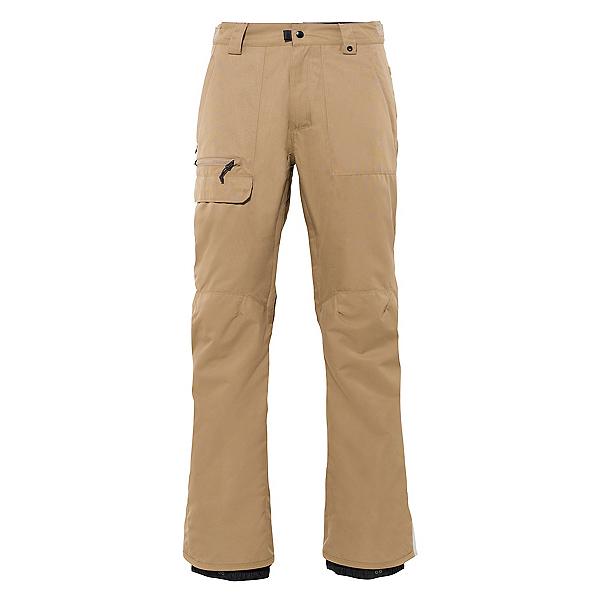 686 Vice Mens Snowboard Pants, Khaki, 600