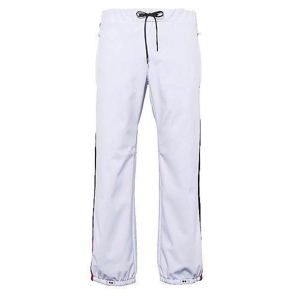 686 Waterproof Track Mens Snowboard Pants, White, 600