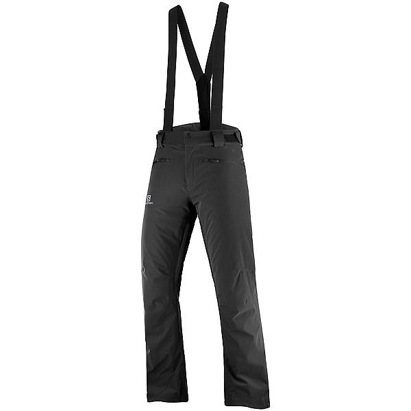 Salomon Stance Mens Ski Pants, Black, 600